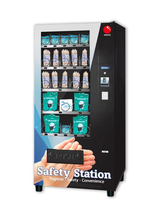 Safety Station Vending Machine